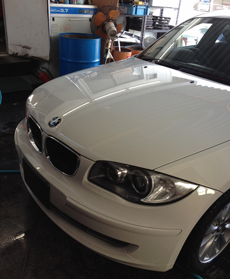 BMW318i- after image
